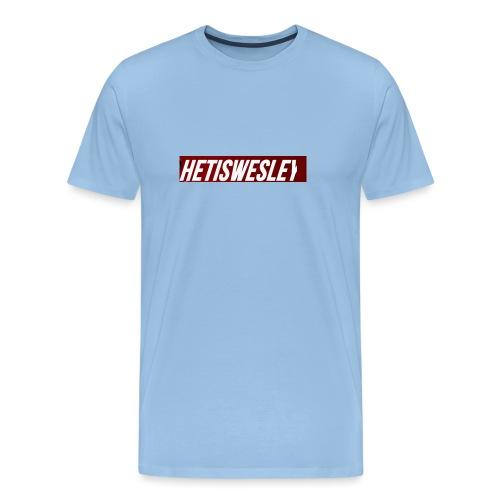 HetIsWesley Name - Mannen Premium T-shirt