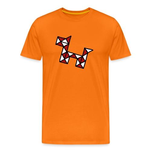 Dog pet twist puzzle toy best friend - Men's Premium T-Shirt