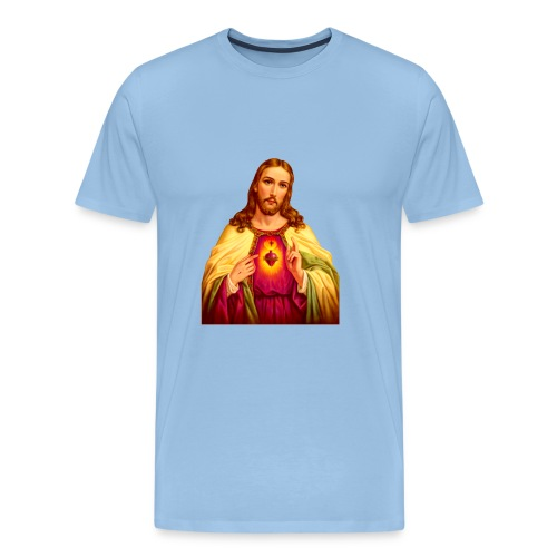 Jesus - Mannen Premium T-shirt