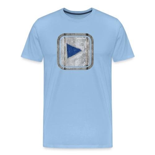 hier entlang ! - Männer Premium T-Shirt
