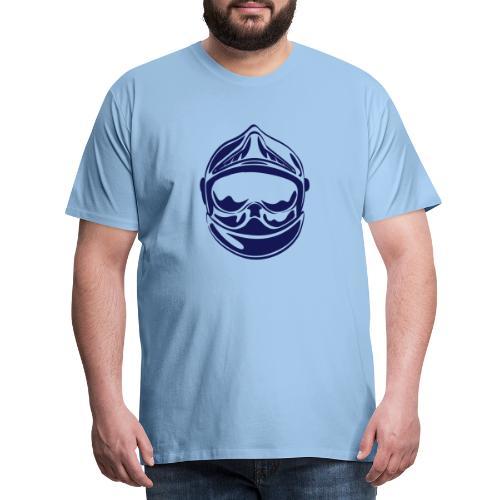 casque_face_2 - T-shirt Premium Homme