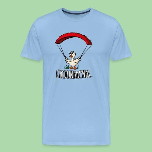 Groundhendl Paragliding Huhn - Männer Premium T-Shirt