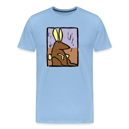 rabbit2 - Mannen Premium T-shirt