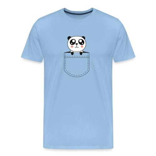 Panda poche - T-shirt Premium Homme