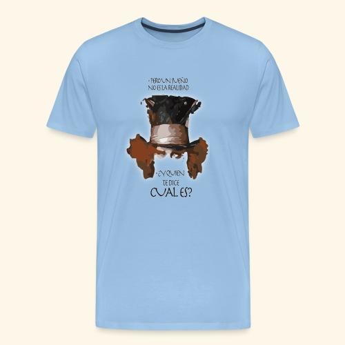CUAL ES - Camiseta premium hombre