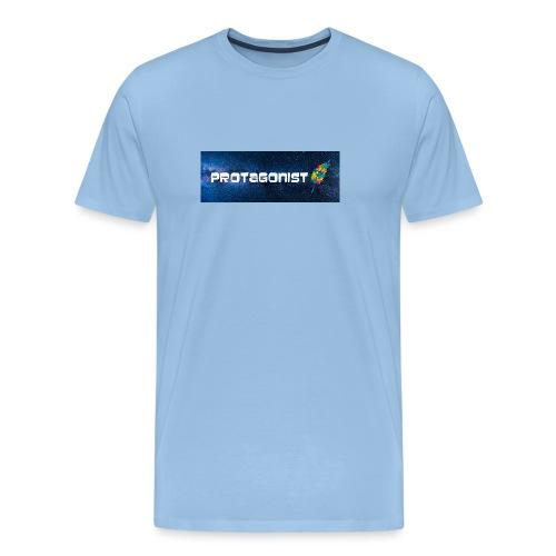 Protagonist by Schreiben-im-Flow.de - Männer Premium T-Shirt
