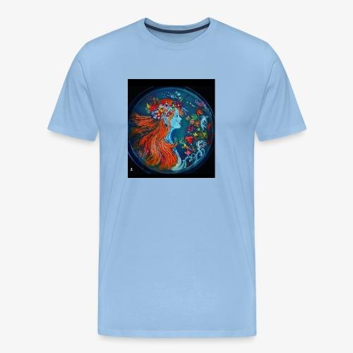 diseño de noche - Camiseta premium hombre