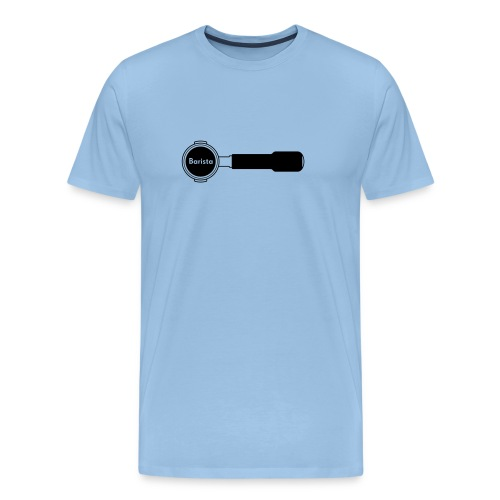 Siebträger Barista horiz - Männer Premium T-Shirt