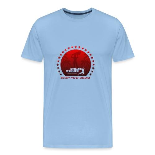 StrandWärmer Starsurfer sky - Männer Premium T-Shirt