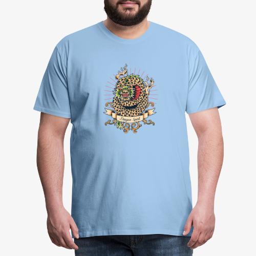 Drachengeist - Männer Premium T-Shirt
