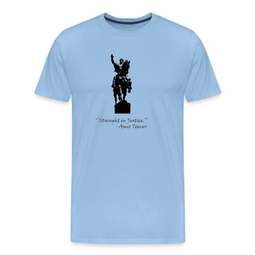 Amir Temur - Mannen Premium T-shirt