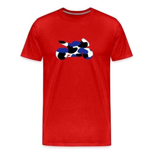 Sportbike Camo 0SB01 - Men's Premium T-Shirt