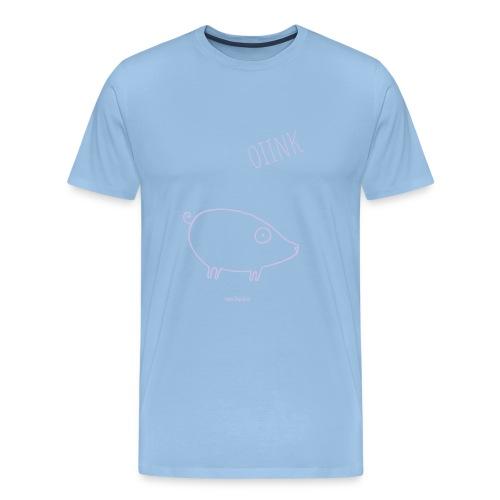 maiale - Maglietta Premium da uomo