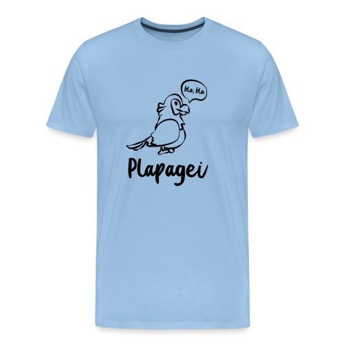 Plapagei - Männer Premium T-Shirt