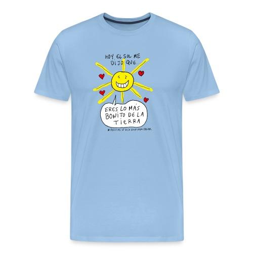 Camisa para ADULTOS: Hoy el sol me dijo que... - Camiseta premium hombre