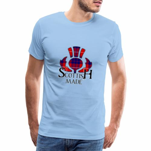 Scottish Made Thistle - Men's Premium T-Shirt