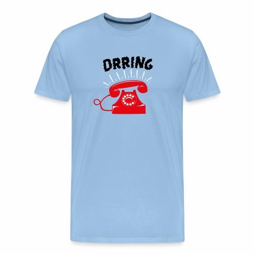 Téléphone vintage qui sonne - T-shirt Premium Homme