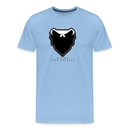 shirtlogofucksoc png - Männer Premium T-Shirt