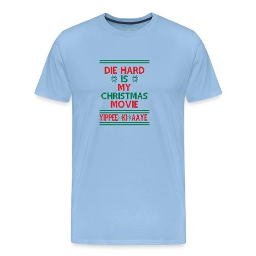 Die Hard Its Not Christmas - Miesten premium t-paita
