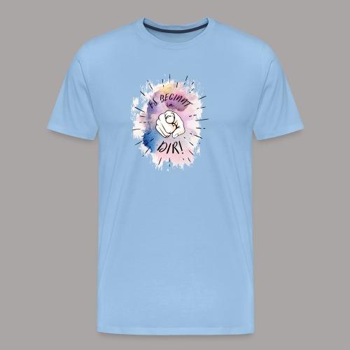 shirt bunt tshirt druck - Männer Premium T-Shirt