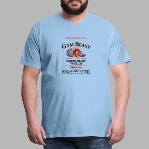 GYM BEAST - Männer Premium T-Shirt