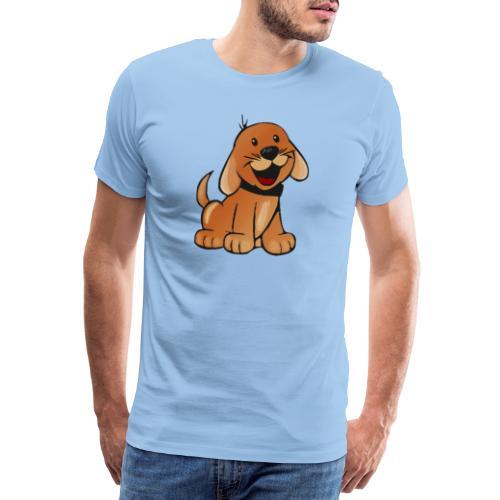 cartoon dog - Maglietta Premium da uomo