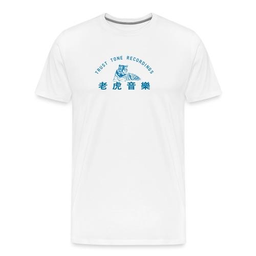 BLUE - Herre premium T-shirt