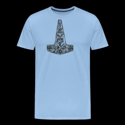 Wolf of Tyr silver - Men's Premium T-Shirt