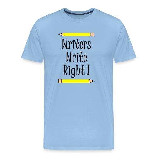 Writers Write Right - Men's Premium T-Shirt