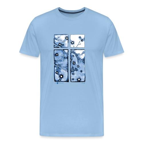 Für immer und ein Tag (blau) - Männer Premium T-Shirt