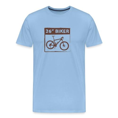 26 Biker - 1 Color - Männer Premium T-Shirt