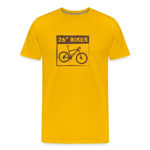 26 Biker - 1 Color - Männer Premium T-Shirt