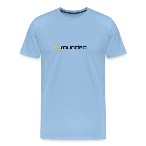 grounded 850 png - Männer Premium T-Shirt