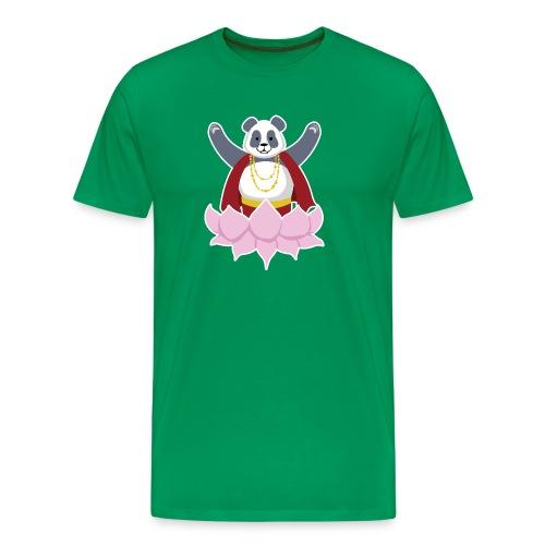 Panda Rhei - Mannen Premium T-shirt