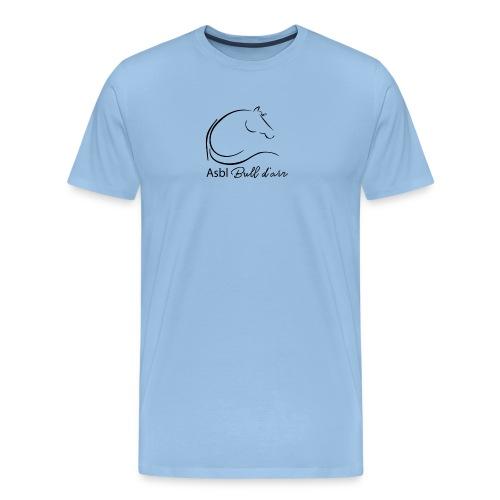 logo bull d air - T-shirt Premium Homme