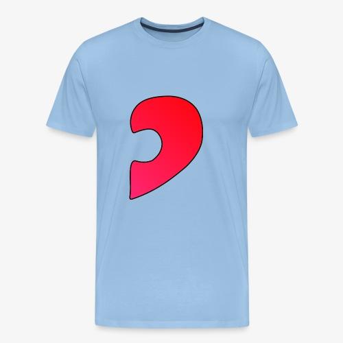 Herz Puzzle Partnerlook B - Männer Premium T-Shirt