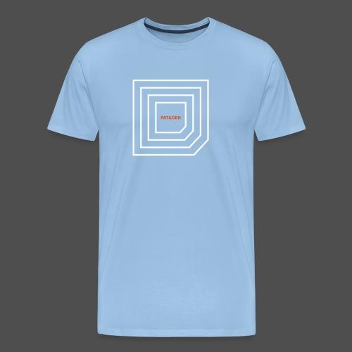 Squares 0PD11 - Men's Premium T-Shirt