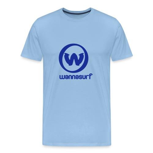Wannasurf - Men's Premium T-Shirt