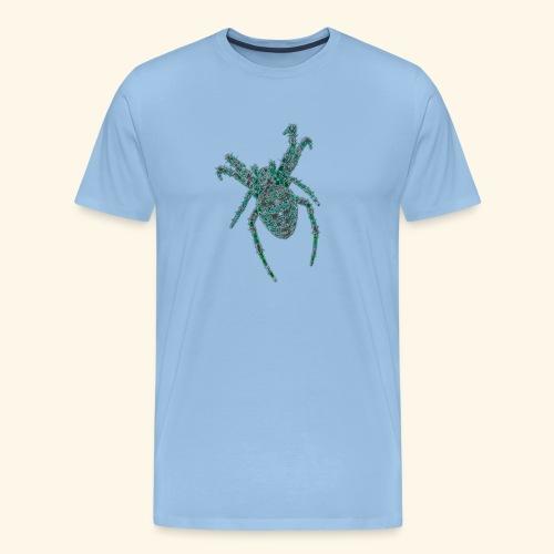 Spider Brooch Digital Art - Men's Premium T-Shirt