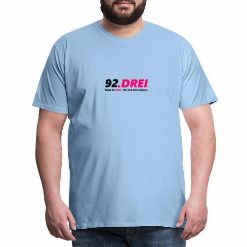 Schriftlogo - Männer Premium T-Shirt