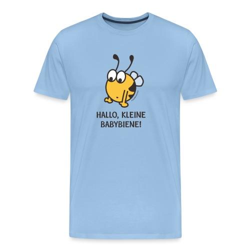 Hallo, kleine Babybiene! - Männer Premium T-Shirt