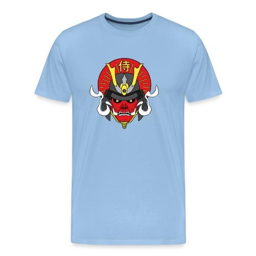 Samouraï Casque Démon - T-shirt Premium Homme