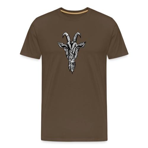 Goat - Premium T-skjorte for menn