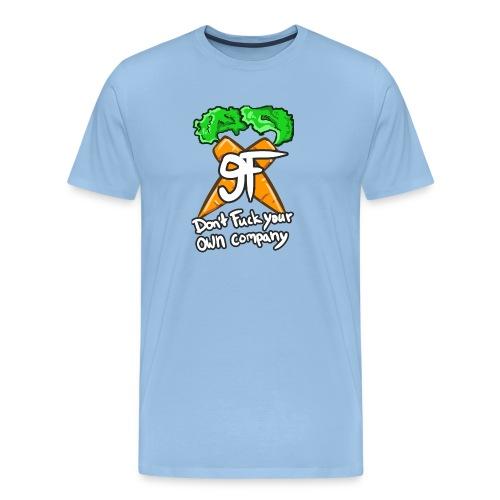 9F FONT final png - Männer Premium T-Shirt