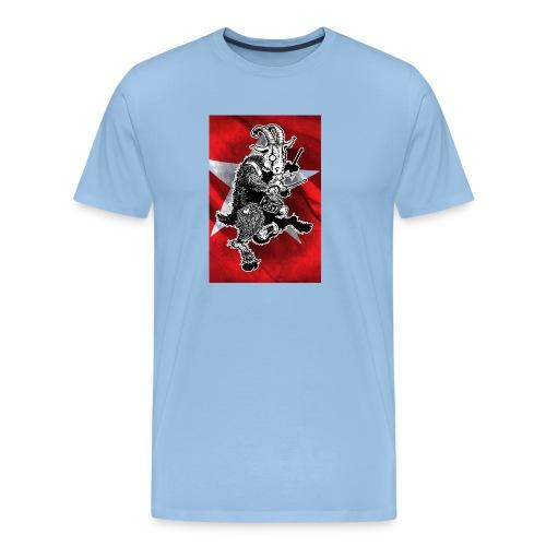 Poster de Bok Z'n Kloete - Mannen Premium T-shirt