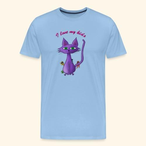 i love my kinds - Männer Premium T-Shirt