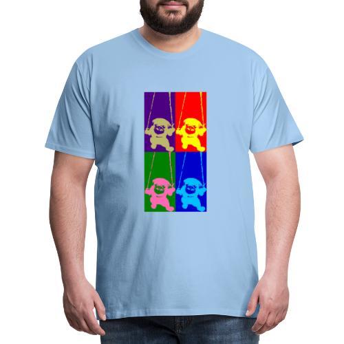pug-warhol - T-shirt Premium Homme