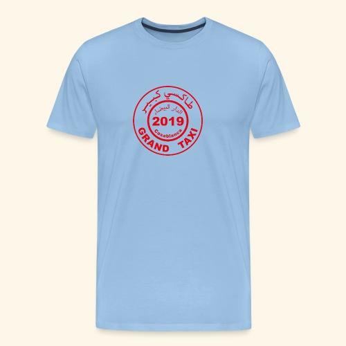 Logo du Grand Taxi de Casablanca 2019 - T-shirt Premium Homme