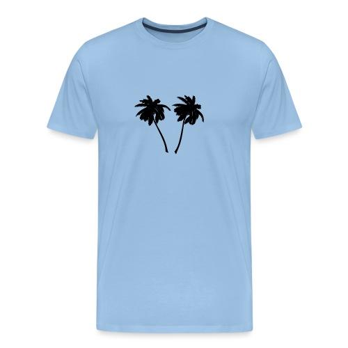 Palm trees - Männer Premium T-Shirt