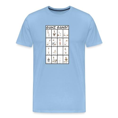 Ganz Gans #1 - Männer Premium T-Shirt
